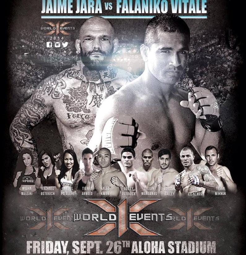Aloha Stadium X1 MMA