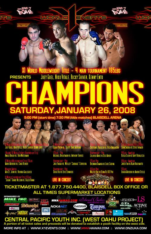 "X1-12 ""Champions"" Jan 26 2008"