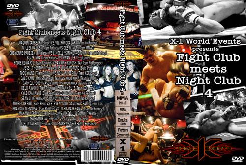 "X1-13 ""Fight Club meets Night Club"" Feb 29 2008"