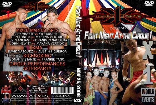 "X1-19 ""Fight Night at the Cirque 1"" Nov 11 2008"