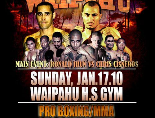 "X1-29 ""Showdown in Waipahu"" Jan 17 2010"