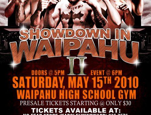 "X1-32 ""Showdown in Waipahu"" May 15 2010"