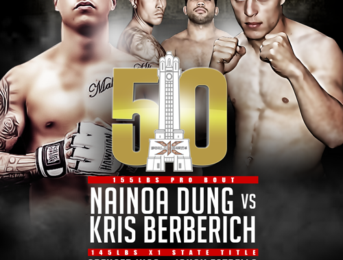 """X1-50 Day 1 """"Two Nights of Fights"""" Aug 3 & 4 2018"""