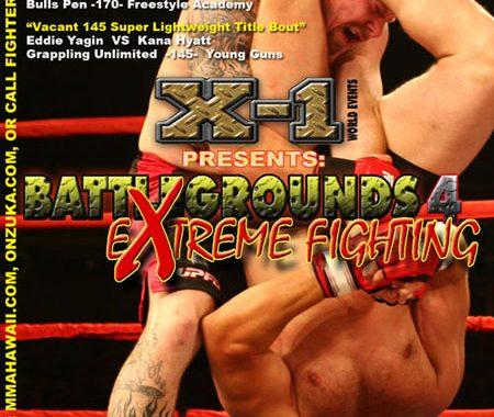"X1-06 ""Battlegrounds 4"" eXtreme Fighting June 10 2006"