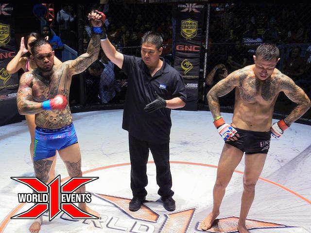 Ryan dela Cruz from Oahu defeats Spencer Higa from Oahu
